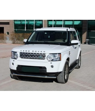 PARE BUFFLE-LAND-ROVER-DISCOVERY-4-2010-2015-INOX - PROTECTION BASSE