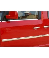 Baguettes de protection porte INOX-VOLKSWAGEN-CADDY-2003-2015-