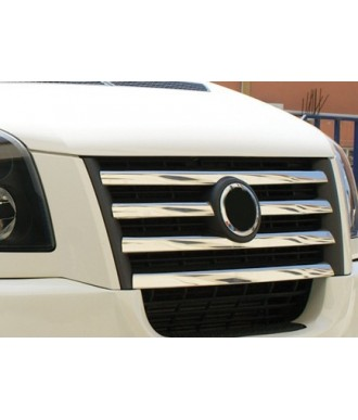 grille de calandre INOX (elements 5 pieces ) VW CRAFTER (2006+) - ( 2012+)