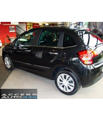 Baguettes Protection Porte ABS-CITROEN-C3-2009-2014-