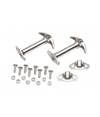 Attaches CAPOT INOX CJ / YJ  KIT