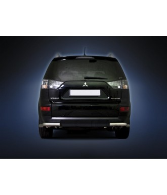 Protection  ARRIERE-MITSUBISHI-OUTLANDER-2010-2012 INOX 70mm