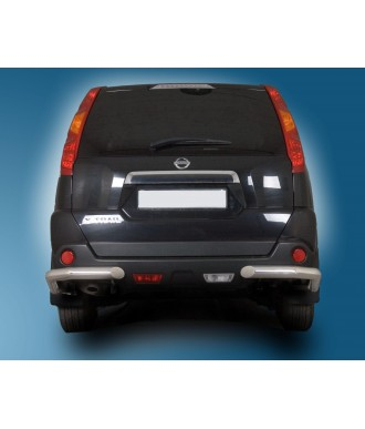Protection ARRIERE-NISSAN-X-TRAIL-2007-2011-INOX ANGLES 70mm