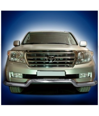 PARE BUFFLE-TOYOTA-LAND-CRUISER-200-2007-2012 INOX - PROTECTION BASSE