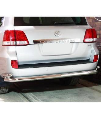 Protection  ARRIERE TOYOTA LAND CRUISER 200 2007-2012 INOX 70mm