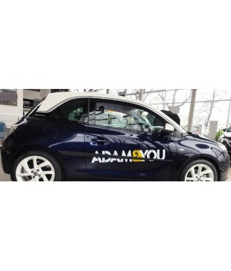 Baguettes de protection porte ABS-OPEL-ADAM-2013-2017