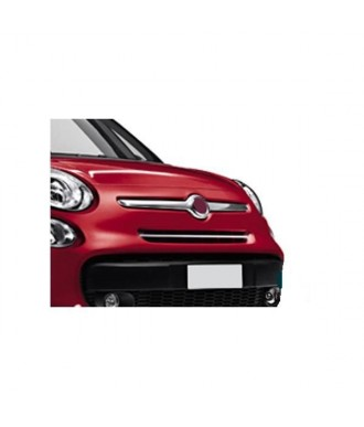Element Grille Calandre-FIAT 500 L -2013-2018-INOX CHROME 1 PIECE
