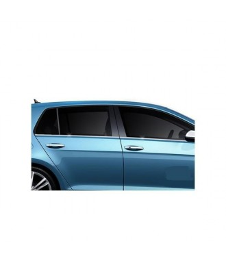 baguettes fenetres INOX (4 pieces) VW GOLF 7 (2012 +)