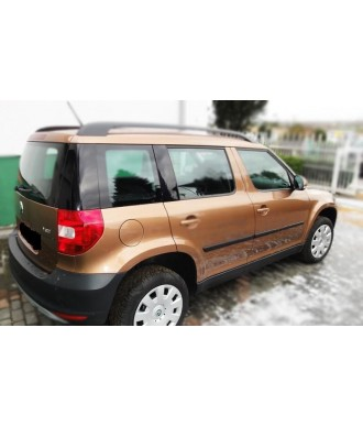 Baguettes Protections Portes ABS-SKODA-YETI-2009-2013