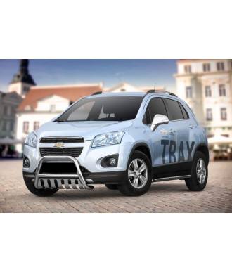 PARE BUFFLE-CHEVROLET-TRAX-2013-2016 HOMOLOGUE INOX - PLAQUE