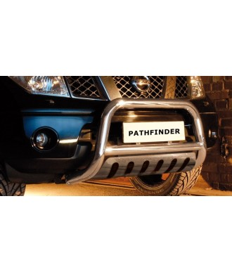 PARE BUFFLE-NISSAN-PATHFINDER-2005-2010-HOMOLOGUE PLAQUE
