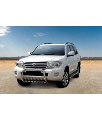 PARE BUFFLE-TOYOTA-LAND-CRUISER-J-200-2012-2016-HOMOLOGUE  INOX - GRILLE