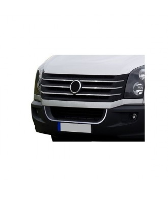 elements grille de calandre INOX (7 pieces) VW CRAFTER (2012 +)