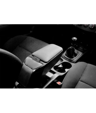 ACCOUDOIR CENTRAL SIMILI CUIR NOIR-MAZDA-2-2007-2014-