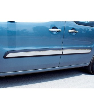 Baguettes de protection porte INOX-BERLINGO-(2008 - 2015)