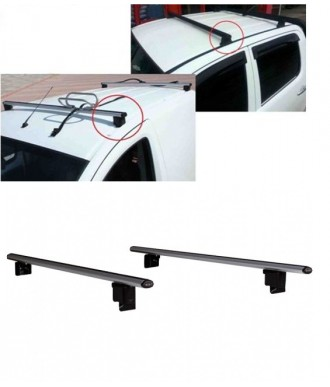 Barres de toit Transversales-VW-CADDY-2003-2010-