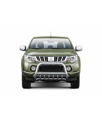 PARE BUFFLE-MITSUBISHI-L-200-2015-2018-HOMOLOGUE - grille