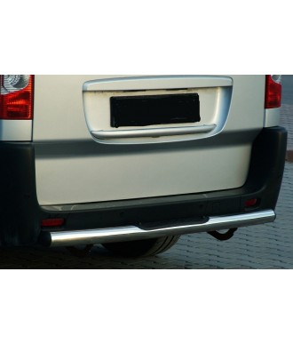 Protection  ARRIERE-RENAULT-TRAFIC-2001-2014-INOX SPR 60mm