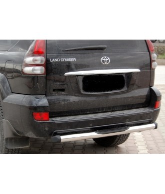 Protection PC arriere INOX-TOYOTA-LAND-CRUISER-120-2002-2009-