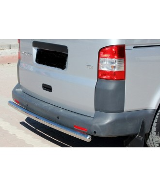 Protection PC arriere inox-VOLKSWAGEN-T5-LONG-2003-2015-