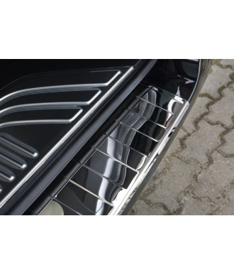 Protection Seuil de coffre INOX CHROME-à-rebord-MERCEDES-VITO-W-639-2003-2014-