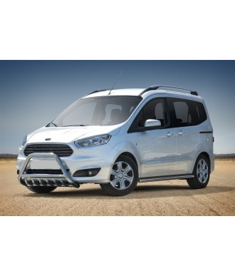 Pare Buffle Inox-FORD-COURIER-2014-2016-