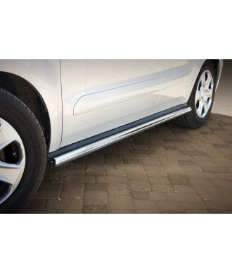 marche pieds-FORD-COURIER-2014-2018-INOX tubulaire