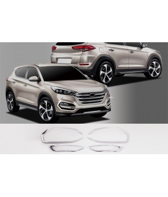 Entourages Anti Brouillard Chrome-HYUNDAI-TUCSON-2015-2016-