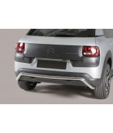 Protection ARRIERE-CITROEN-C4-CACTUS-2014-2018 INOX 50mm
