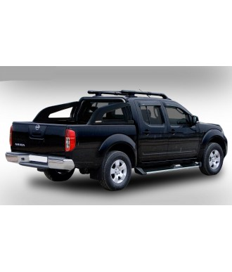 ROLL BAR POLY. DOUBLE BARRES NOIRES-MAZDA-BT-50-2006-2011-