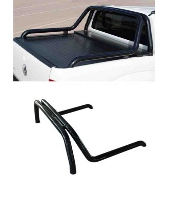 ROLL BARS DOUBLE BARRES-NOIRES-MITSUBISHI-L-200-2016-