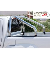 ROLL BAR INOX DOUBLE BARRES-FORD-RANGER-2012-2017-