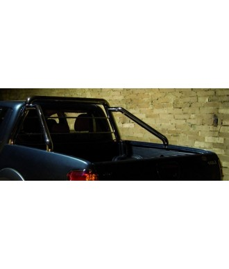 ROLL BARS SIMPLE BARRE-INOX-MITSUBISHI-L-200-DOUBLE-CABINE-2009-2015-