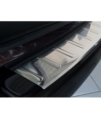 Protection Seuil de Coffre à Rebord INOX-FORD-TRANSIT-COURIER-2014-2017-