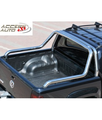ROLL BARS DOUBLE BARRES-INOX-NISSAN-NAVARA-D40-2005-2015-