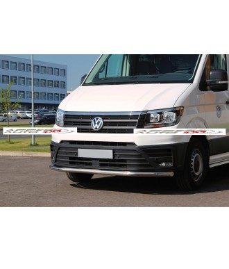 PARE BUFFLE-VOLKSWAGEN-CRAFTER-2017-AUJOURD'HUI-INOX - PROTECTION BASSE