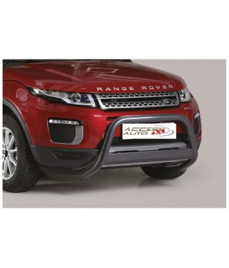 PARE BUFFLE-LAND-ROVER-EVOQUE-2016-2018 HOMOLOGUE NOIR barre de renfort