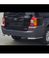 protection d'angles de PC arriere inox-HYUNDAI-TERRACAN-2005-