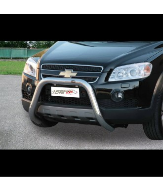 PARE BUFFLE-CHEVROLET-CAPTIVA-2007-2011- HOMOLOGUE INOX  70mm