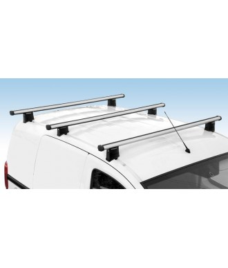 Barres de Toit-ALUMINIUM-CITROEN-JUMPY-COURT-LONG-1995-2006-(3-BARRES)-