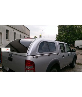 HARD TOP-FORD-RANGER-DOUBLE-CABINE-2006-2009 AVEC FENETRES COULISSANTES
