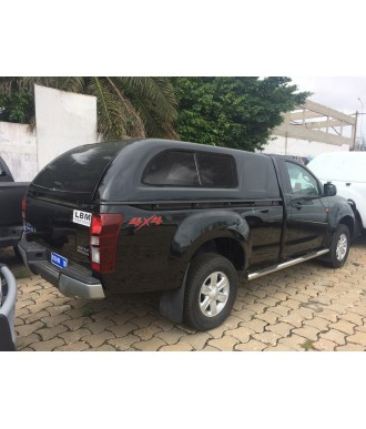 HARD TOP-ISUZU-D-MAX-SINGLE-CABINE-2012-2017 AVEC FENETRES COULISSANTES