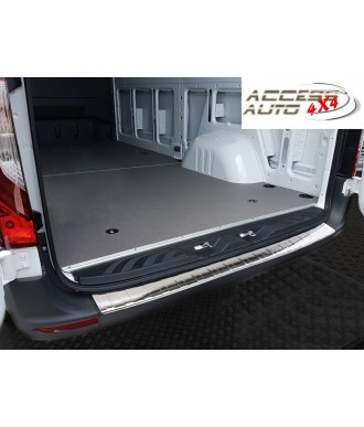 Protection Seuil de coffre INOX à rebords-MERCEDES-SPRINTER-2018-2019