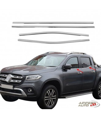 Couvre BaguettePare Choc-Arriere-CHROME-VOLKSWAGEN-TIGUAN-2017-