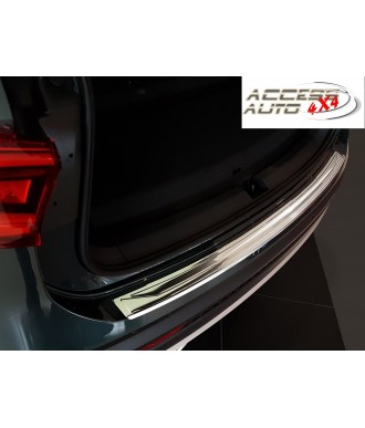 Protection Seuil de coffre INOX à rebords-PEUGEOT-508-BERLINE-2018-