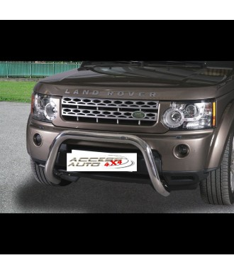 PARE BUFFLE-LAND-ROVER-DISCOVERY-4-2012-2017- HOMOLOGUE INOX - 76mm