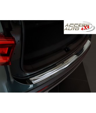 Protection Seuil de coffre INOX -FINITION-CHROME-à-rebord-SEAT-TARRACO-2019
