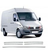 Elements Grille Calandre INOX-MERCEDES-SPRINTER-1995-2006-