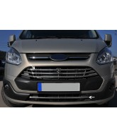Elements-grille calandre-FORD TOURNEO CUSTOM-2012-2017-INOX CHROME 5 PIECES