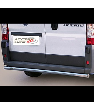 PROTECTION ARRIERE FIAT DUCATO 2006-2013 INOX LONG